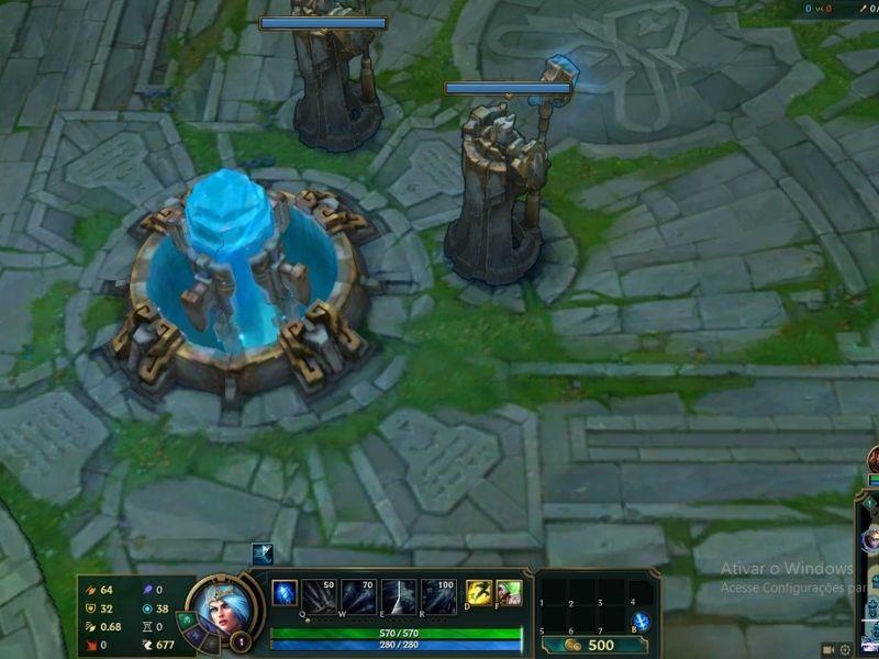 Screenshot do jogo League of Legends